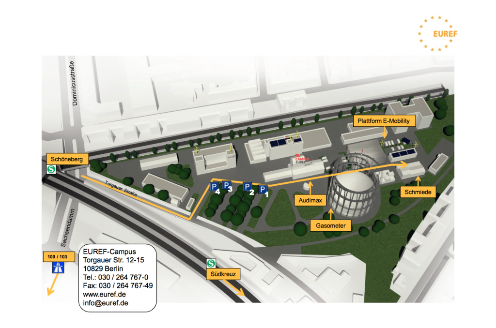 Plan EUREF Campus